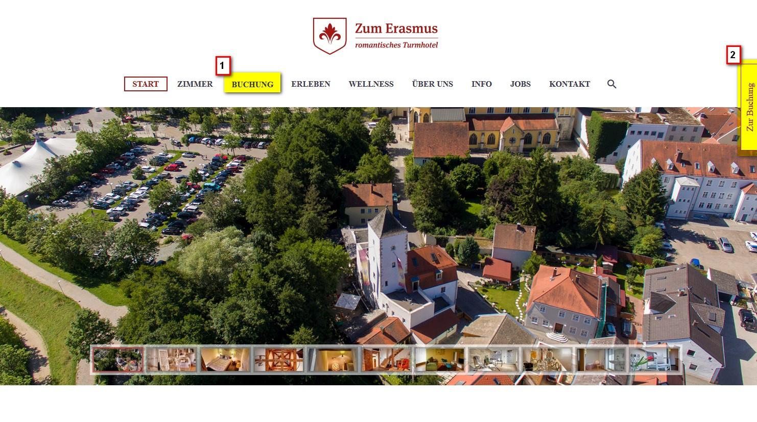 ZumErasmus_Home_cultbooking_booking_engine