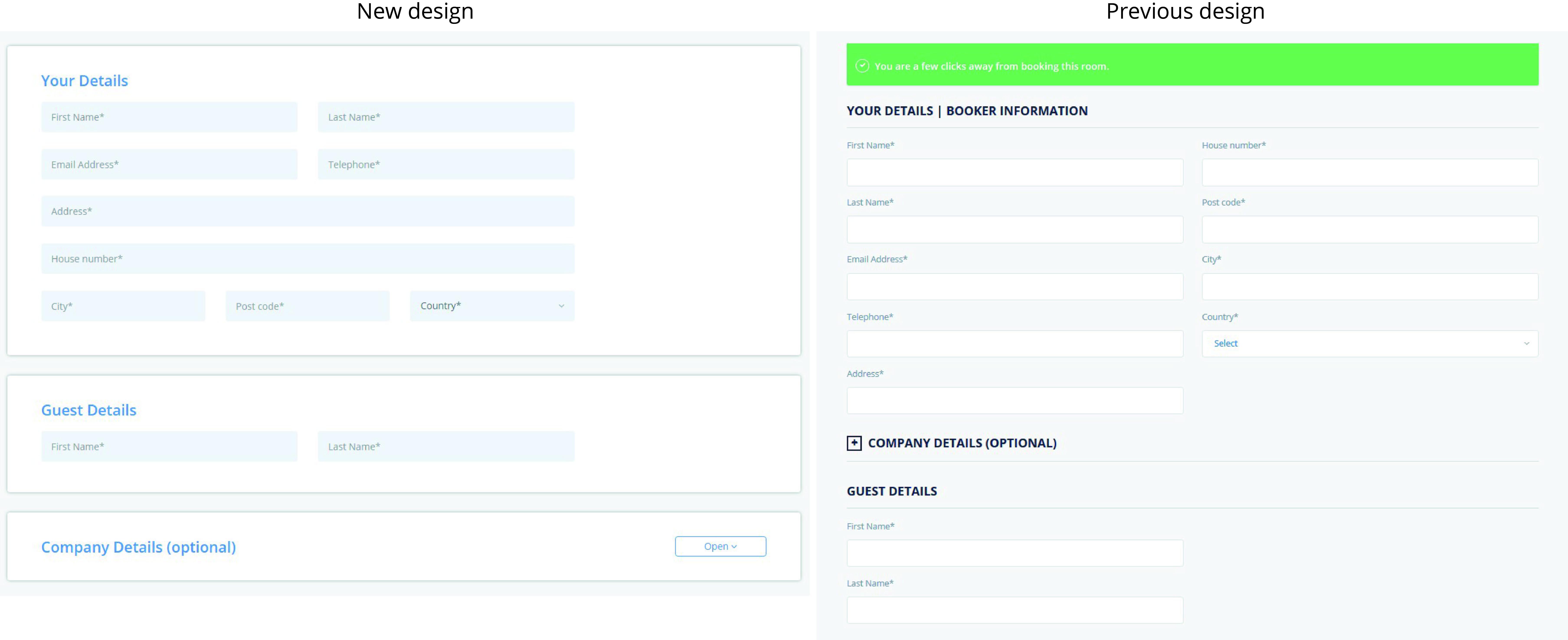3.comparison_your details_guest details_cultbooking