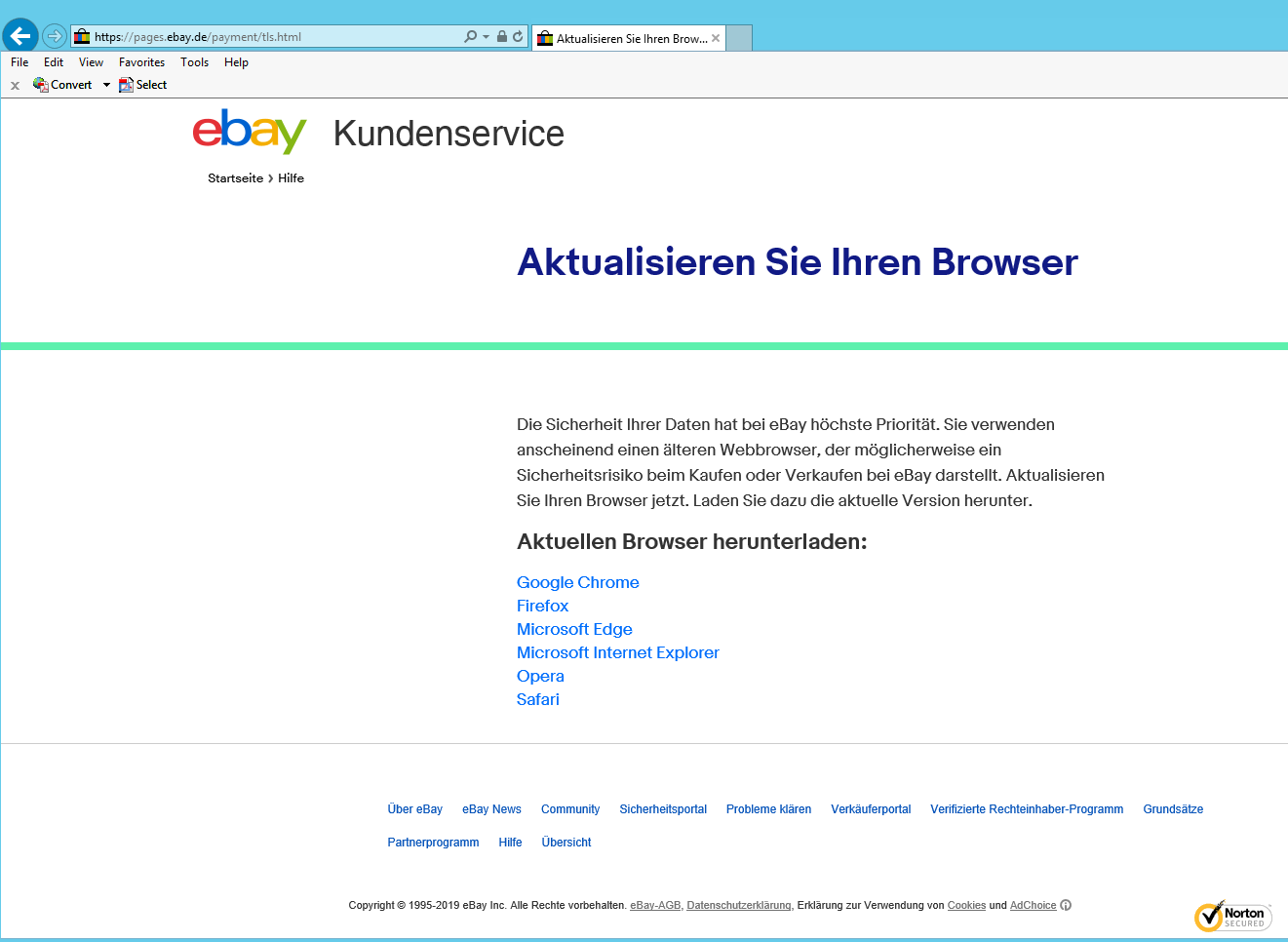 ebay internet explorer cultbooking