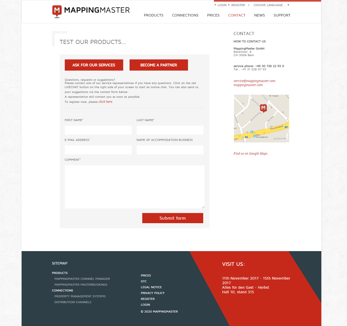 contact mappingmaster