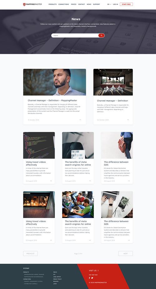 news mappingmaster new design blog
