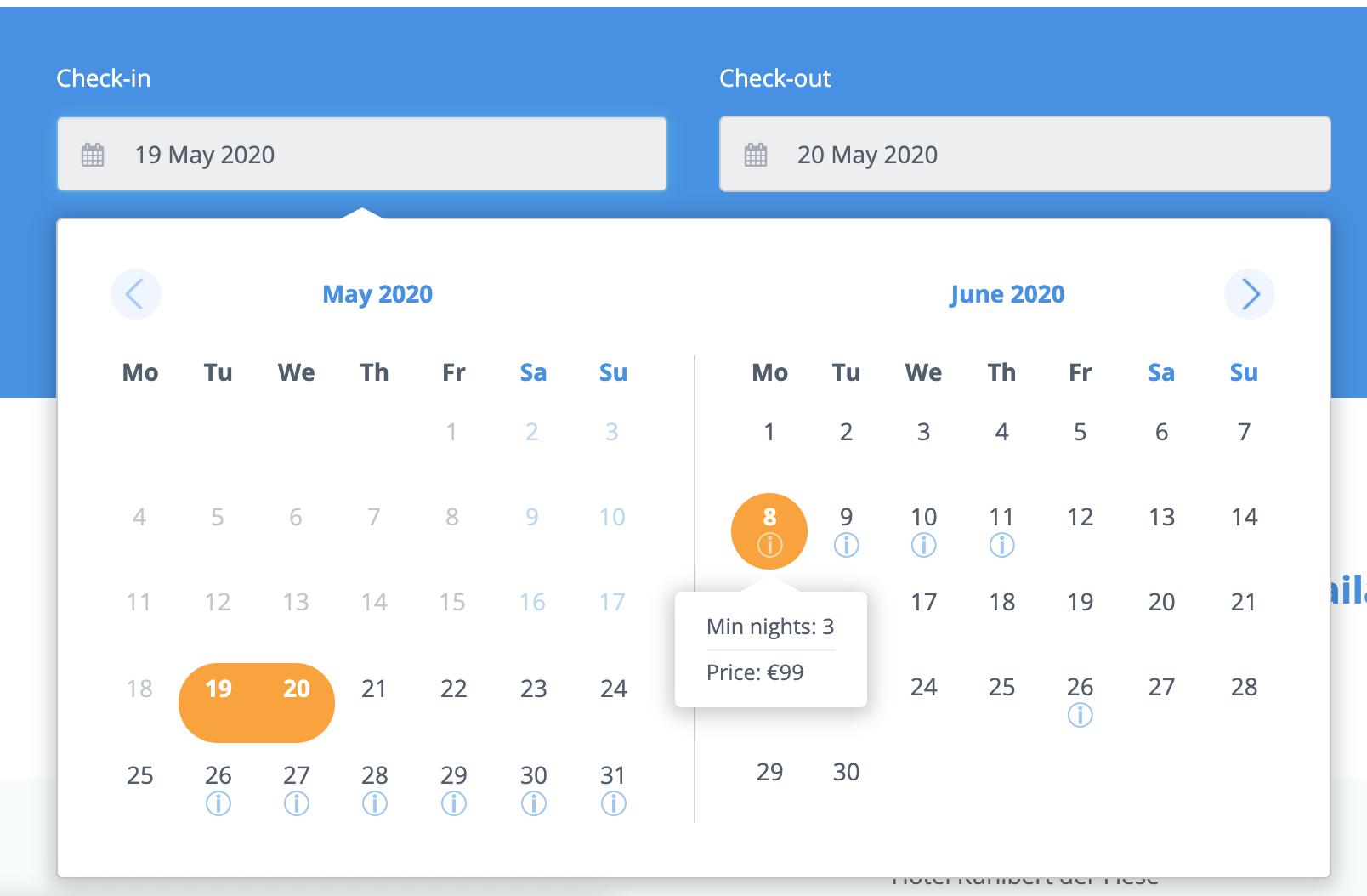 smart calendar cultbooking