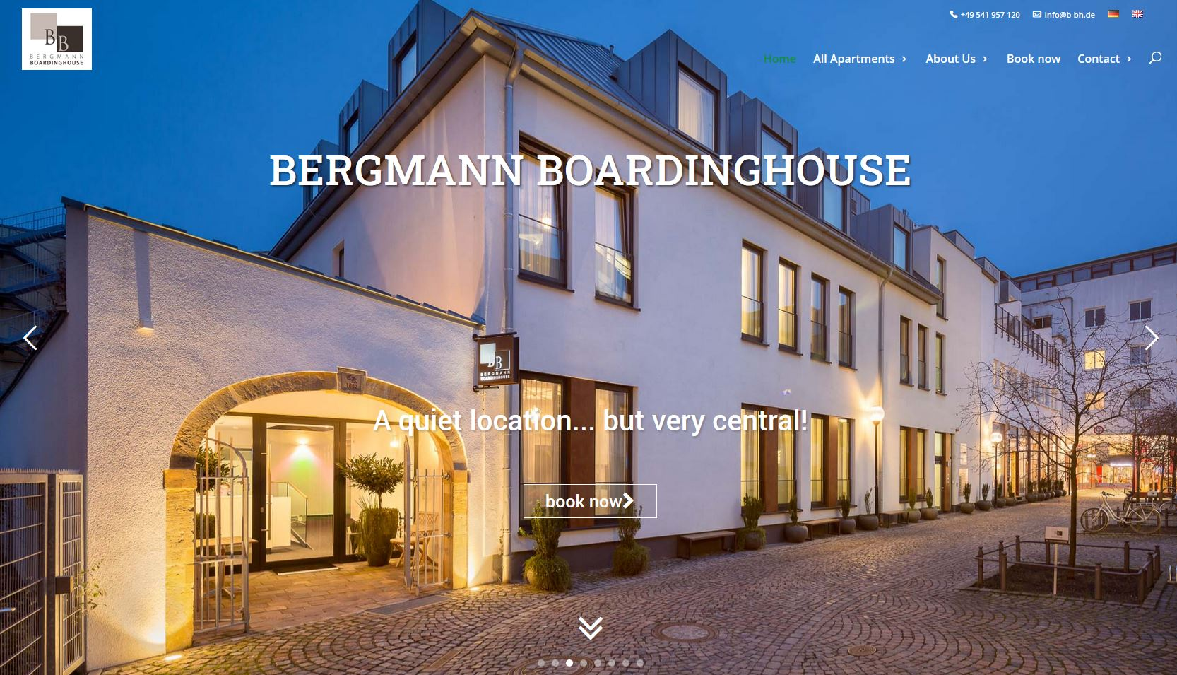 Bergamann Boarding House - Book Now