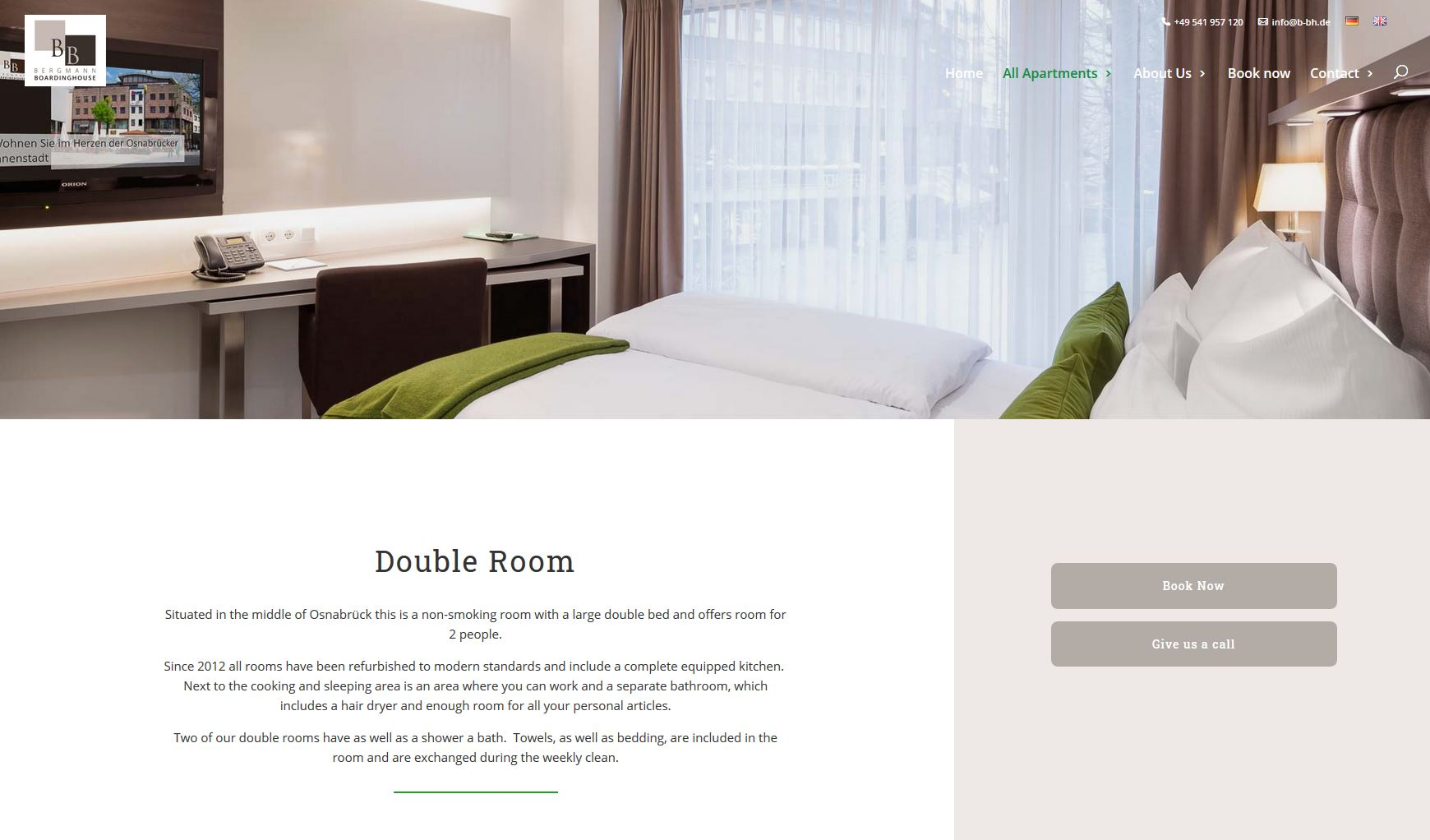 Bergmann - cultbooking - book now - button - best hotel booking engine