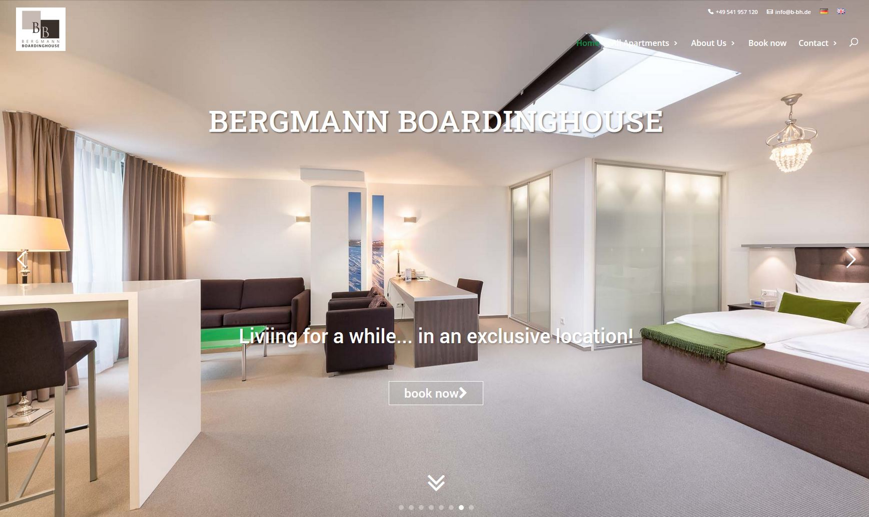Bergmann - cultbooking - book now - booking engine- booking button