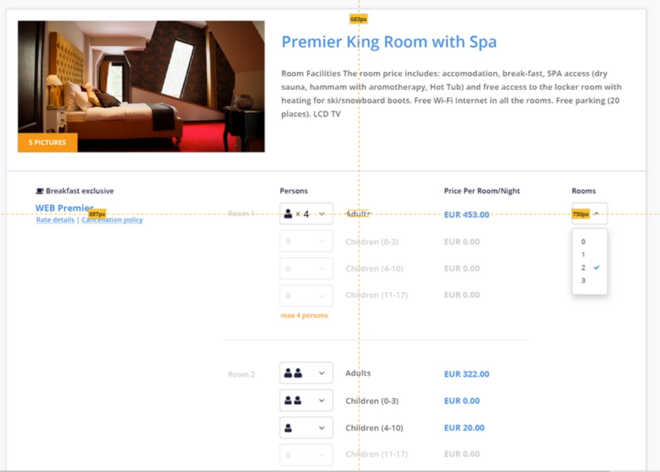 children prices - cultbooking - best hotel booking engine