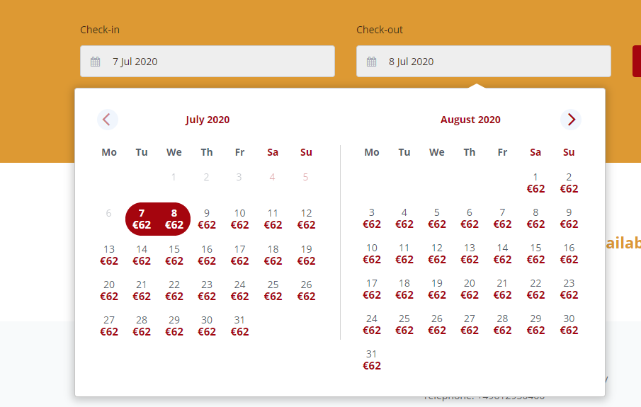 cultbooking-smart calendar - online booking engine