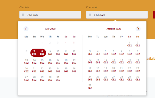 booking calendar - smart - cultbooking