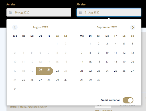 smart calendar - booking - cultbooking