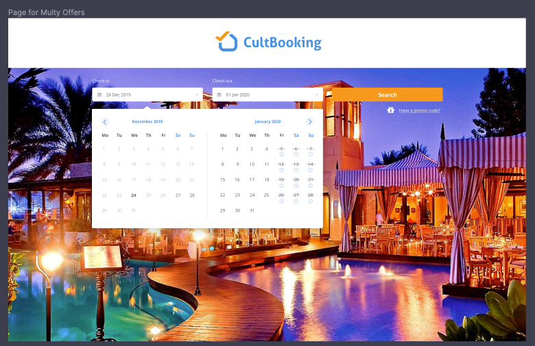 cultbooking main image and color