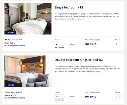 occupancy pricing - cultbooking