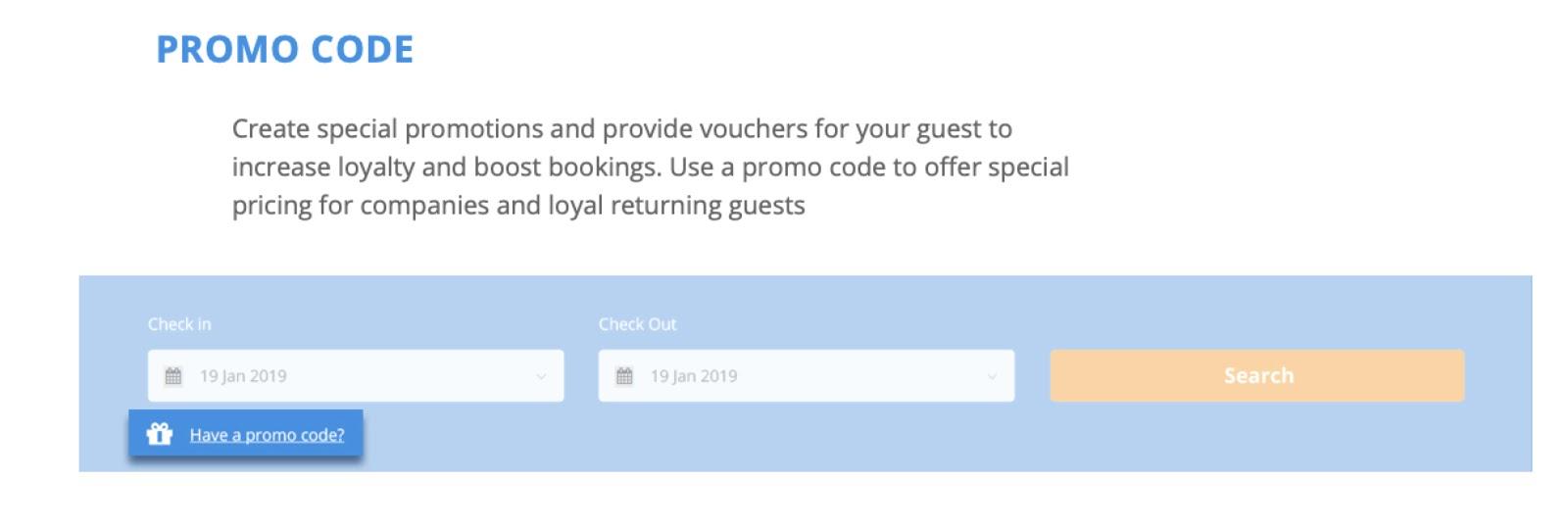 promo code - voucher - cultbooking