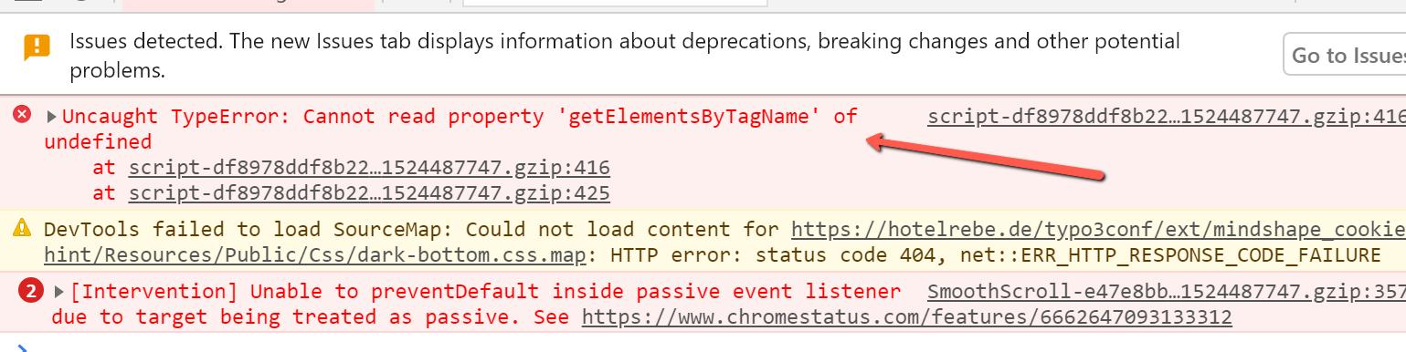 error website - conflict