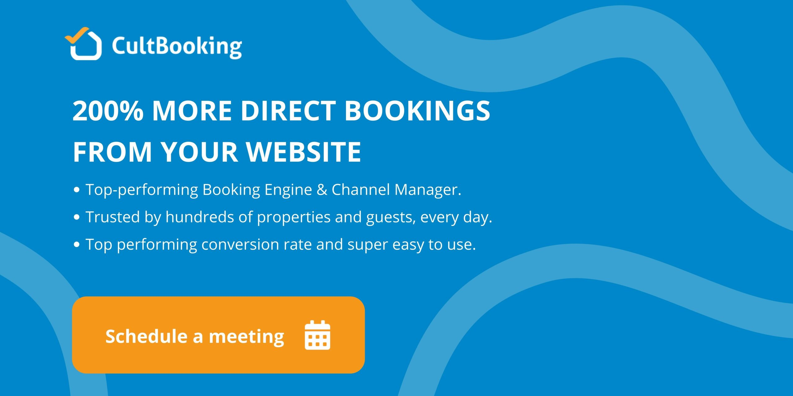 cultbooking - book a meeting - direct bookings